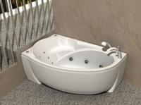 Ассиметричные акриловые ванны